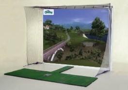 P3pro Swing Pro Xcs Golf Simulator Package Golf Training