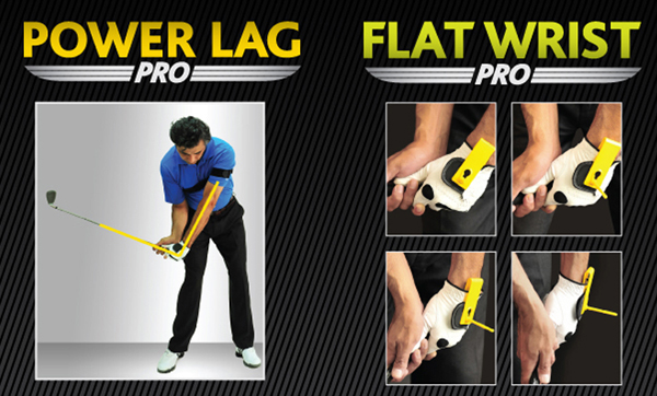 Power Lag Pro & Flat Wirst Combo Golf Swing Trainer