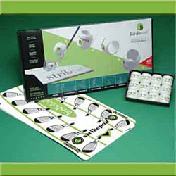 Golf Training Aids: Birdieball 12 Pack & StrikePad Set