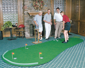 Golf Training Aids: Big Moss Admiral 6'x15' Putting Green