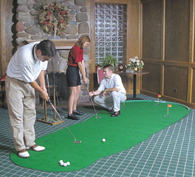 Golf Training Aids: Big Moss General 6'x12' Putting Green