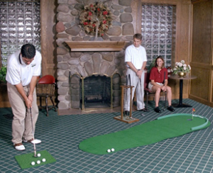 Golf Training Aids: Big Moss Original 3'x9' Putting Green