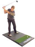 Golf Training Aids: Fiberbuilt 3'x5' Golf Hitting Mat