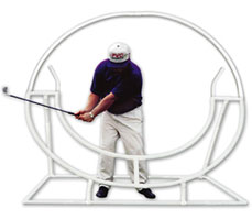 Golf Training Aids: Full Circle PVC Swing Trainer