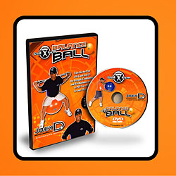 Golf Training Aids: GolfGym Balance Ball Training DVD