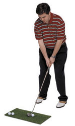 Golf Training Aids: Golf Practice Chipping & Driving Mat