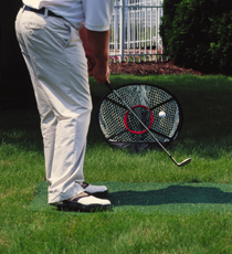 Golf Training Aids: Izzo Mini Mouth Chipping Net
