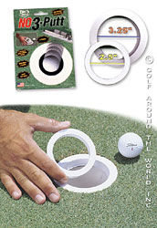 Golf Training Aids: No 3 Putt Hole Reducer