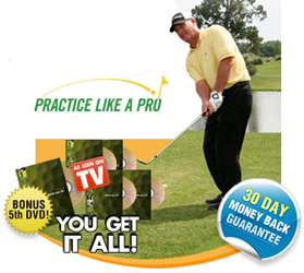 Golf Training Aids: Practice Like a Pro - DVD Set