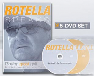 Golf Training Aids: Rotella Speaks - 5 DVD Set