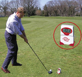 Golf Training Aids: Swing Speed Radar with Tempo Timer
