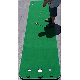 Golf Training Aids: Big Moss Competitor Series Pro Practice Putting Green (3'x12')