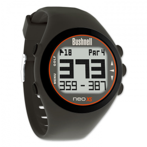 Golf Training Aids: Bushnell Neo XS GPS Watch - Charcoal
