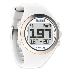 Golf Training Aids: Bushnell Neo XS GPS Watch - White