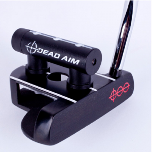 Golf Training Aids: Dead Aim Laser Alignment Counter Balanced Putter