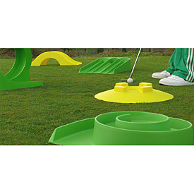 Golf Training Aids: My Mini Golf Front Nine Set