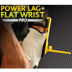 Golf Training Aids: Power Lag and Flat Wrist Combo Golf Trainer