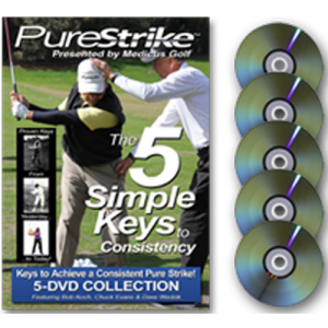 Golf Training Aids: Pure Strike DVD Set - 5 Disc