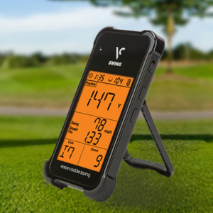 Golf Training Aids: Voice Caddie Portable Golf Launch Monitor SC100