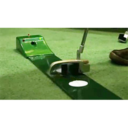 Golf Training Aids: AccuPutt: 3-2-1 Putt Laser System