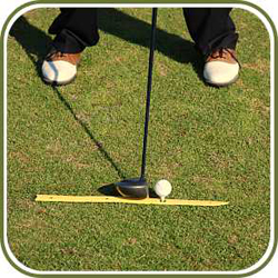 Golf Training Aids: Aim-Mate Golf Alignment Aid (2 Pack)