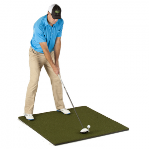 Golf Training Aids: PureShot TOUR PURE Golf Hitting Mat (4'x4')